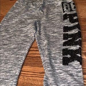PINK Victoria's Secret Pants - Pink Victoria's Secret Size M sweat pants